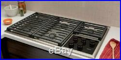 WOLF CG365TSLP 36 Professional Liquid Propane Cooktop 5 Sealed Burners