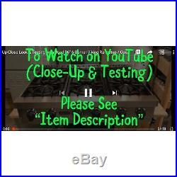 Watch Item on YouTube 36 Viking Rangetop Cooktop Stovetop LP Gas (Propane)