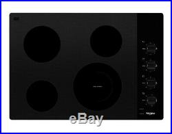 Whirlpool 30 in. Radiant Electric Ceramic Glass Cooktop WCE55US0HB MSRP $649
