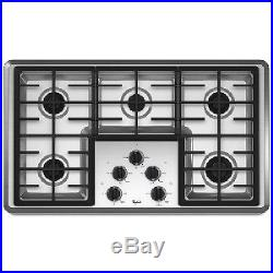 Whirlpool 36 Stainless Steel Gas Cooktop W5CG3625XS