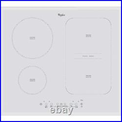 Whirlpool ACM 808 BA/WH 60cm Induction White Glass Ceramic Kitchen Hob