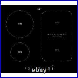 Whirlpool ACM 808/NE Built-in 60cm Induction Kitchen Hob Black Glass New