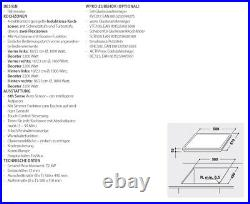 Whirlpool Induktionskochfeld 60cm Autark SENSOR Einbau Flex Automatik Flexizonen