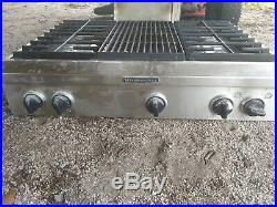Whirlpool Kitchenaid 36 Stainless Steel Gas Cooktop Drip Tray Pan Kgcu 463VSS