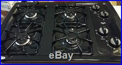 Whirlpool W3CG3014XB 30-in Gas Cooktop Black