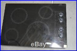 Whirlpool W5CE3024XB 30 Stainless Electric Cooktop 4 Element #29530 CLN
