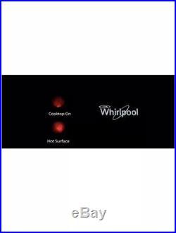 Whirlpool W5ce3024xb 30 Electric Ceramic Glass Cooktop 4 Burner Black New