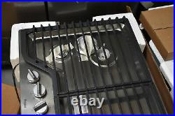 Whirlpool WCG51US0DS 30 Stainless Gas 4 Burner Cooktop NOB #38642 MAD