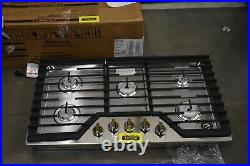 Whirlpool WCG55US6HS 36 Stainless Natural Gas Cooktop NOB #103639