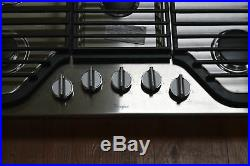 Whirlpool WCG97US6DS 30 Stainless 5 Burner Gas Cooktop NOB #24892 HL
