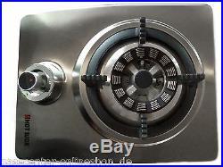 Wok Brenner Gaskocher 4,5 kW mit Zündsicherung und Piezozündung Hot Wok