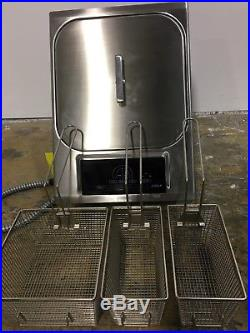 Wolf 15 Electric Fryer Module in Stainless- IF15S