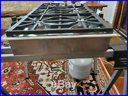 Wolf 36 Natural Gas Cooktop CT36G/S