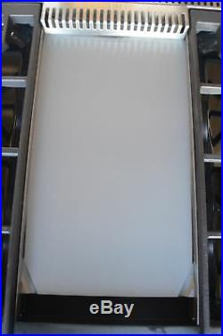 Wolf 36 Pro Style Stainless Steel 4 Burner Gas RangeTop SRT364G