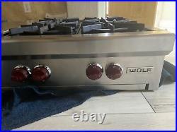Wolf 48 rangetop SRT486G Serial Number 11201679