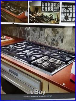 Wolf CT36G/S 36 5 Burner Gas Cooktop