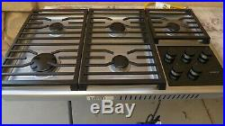 Wolf Cg365t/s 36 Gas Cooktop