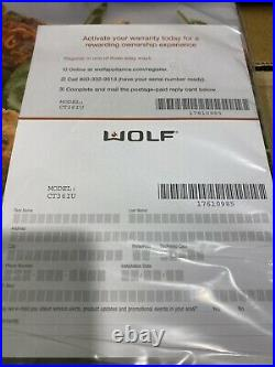 Wolf Ct36iu 36 Induction Cooktop