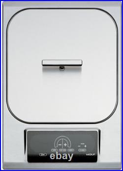 Wolf IF15S 15 Inch Electric Fryer Module with 2,600-Watt Heating Element