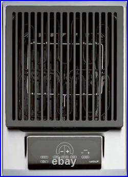 Wolf IG15/S 15 Electric Grill Module with 2 Independent Heating Elements