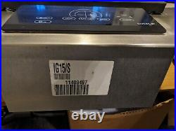 Wolf IG15S 15 Inch Electric Grill Module with Two Independent Heating Elements