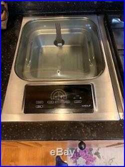 Wolf IS15S 15 Inch Electric Steamer Module Stainless
