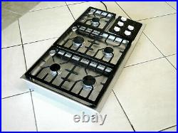 Wolf Model Ct36g/s-lp 36 Lp Propane Cooktop Stainless Refurbished
