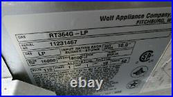 Wolf Pro-style Rt364g-lp 36 Liquid Propane Rangetop