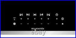 Wolkenstein Ceranfeld SCHOTT CERAN 80cm Slider 5 Kochfelder Bräter Triple Zone
