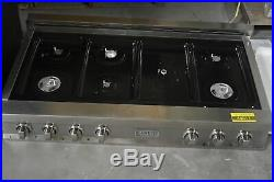 ZLine RT48 48 Stainless Pro-Style 7-Burner Gas Rangetop NOB #44811 HRT